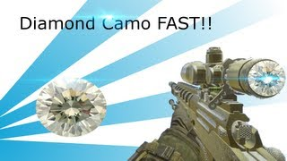 HOW TO GET DIAMOND CAMO FAST (SNIPER BO2)