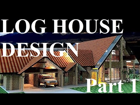 How to build a log house foundation lesson 1 youtube for Floor plan com
