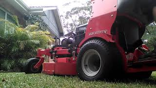 Happy New Year Mowing, Sydney Summer, Gravely 36'