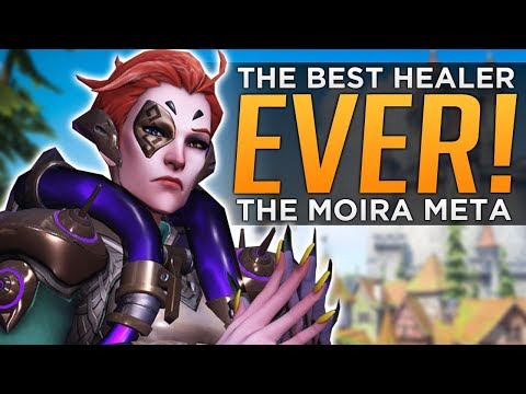 Overwatch: Moira THE BEST Healer Ever! - NEW Support Meta!