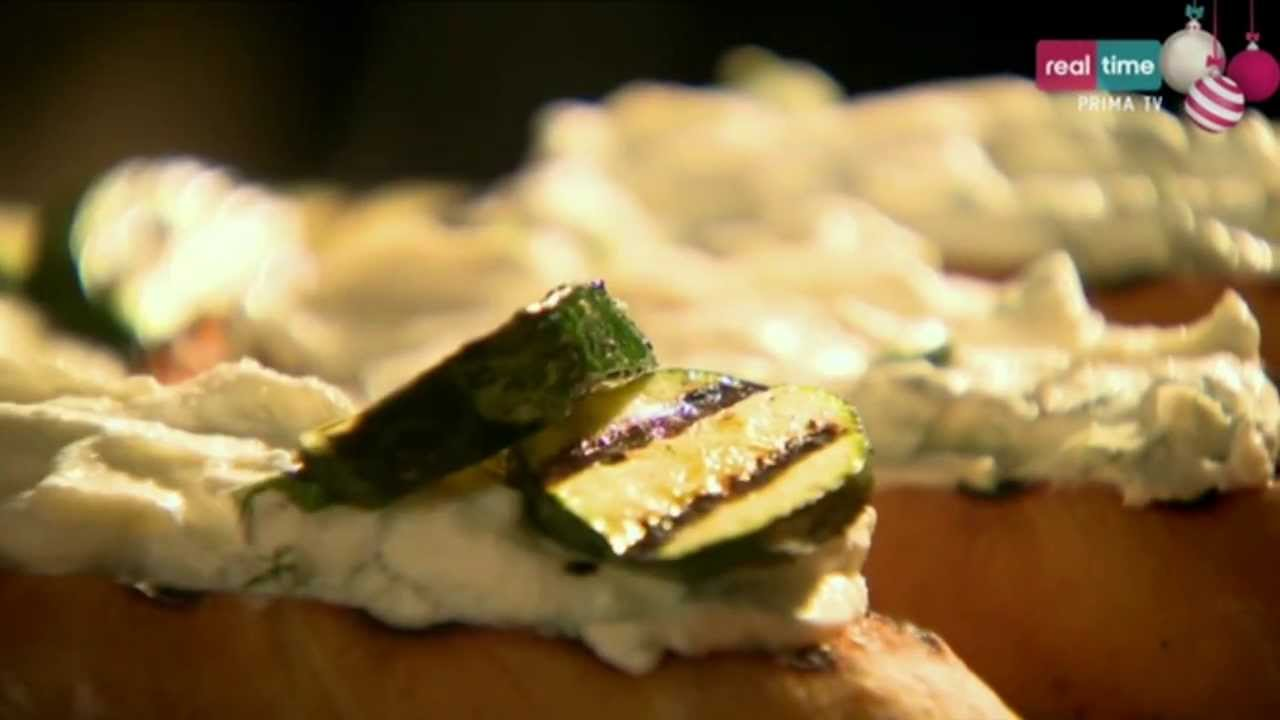 A tavola con ramsay 163 bruschette con zucchine e ricotta youtube - A tavola con gordon ramsay ...