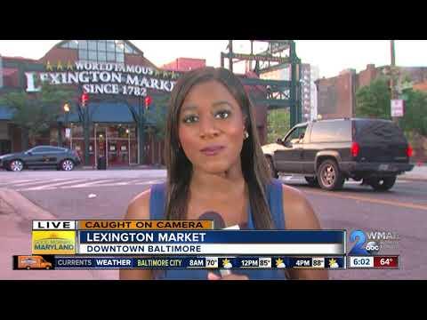 Rat recorded crawling through bakery at Lexington Market