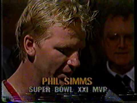 Super Bowl XXI CBS Postgame (1987) NY Giants vs Denver Broncos