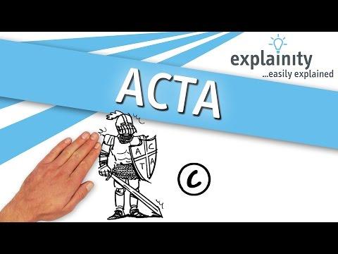 ACTA explained (explainity®
