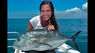 Angeln auf GT in Sri Lanka / GT fishing in Sri Lanka Giant Trevally