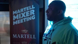 Martell Mixer Meeting | Maino Stops By To Debut New Music