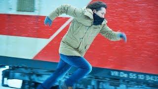 登坂広臣が中条あやみを思って全力疾走/映画『雪の華』メイキング映像