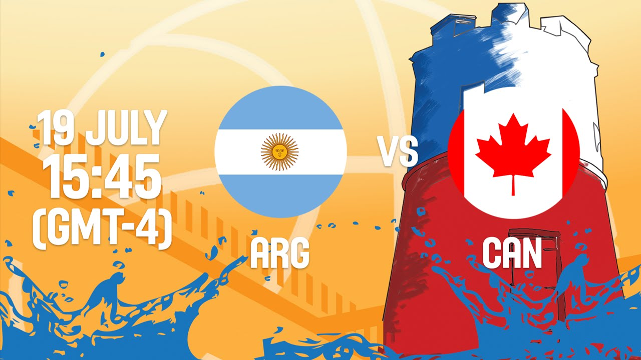 Argentina v Canada - Full Game - Group A