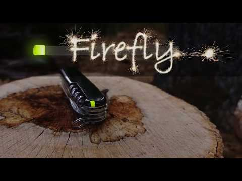 Firefly - The Ultimate Swiss Army Knife Accessory and the Ultimate EDC Fire Starter.