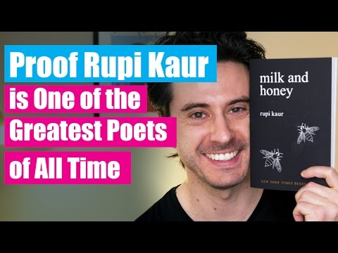 Proof Rupi Kaur Is One Of The Greatest Poets Of All Time - Milk And Honey Book Review
