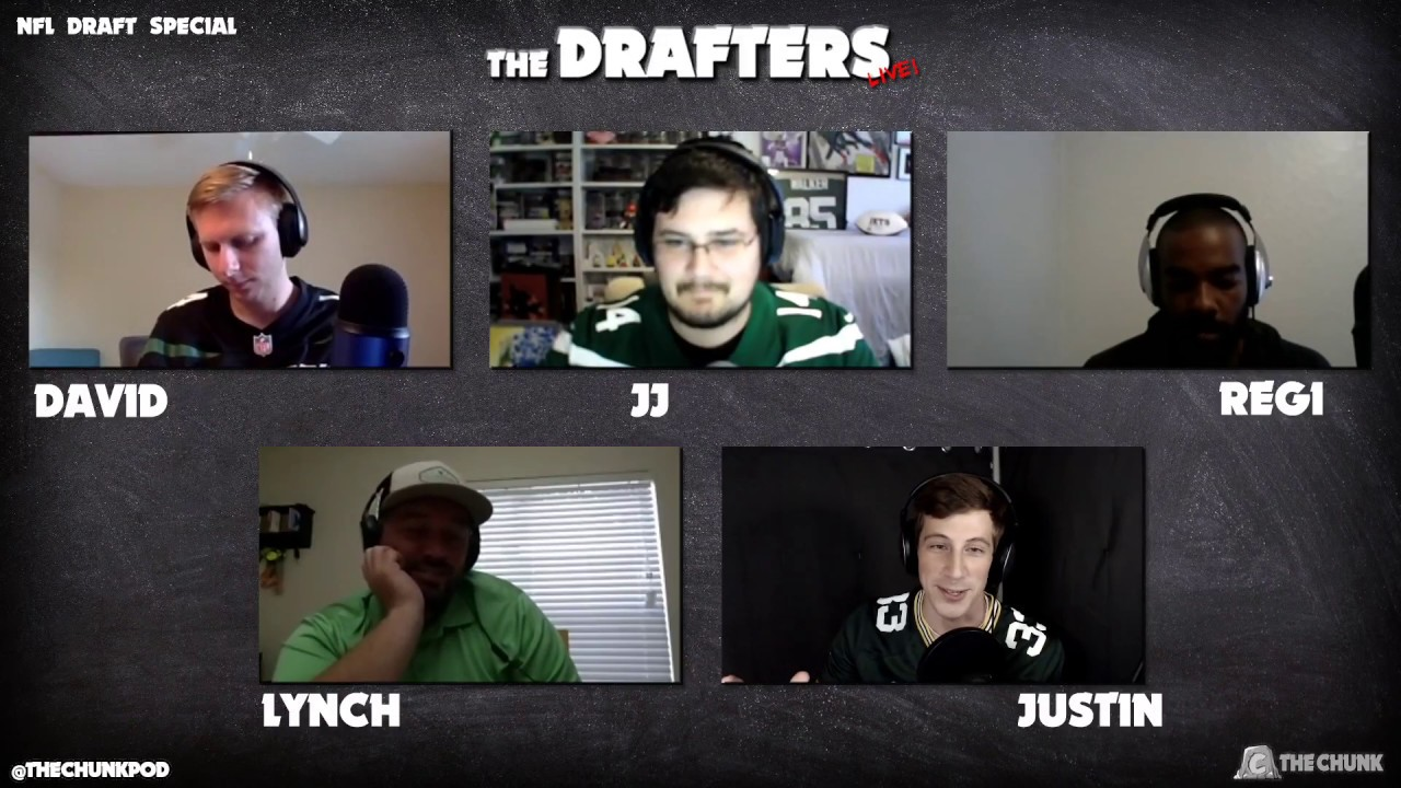 The Drafters Live! #5: NFL Draft Special