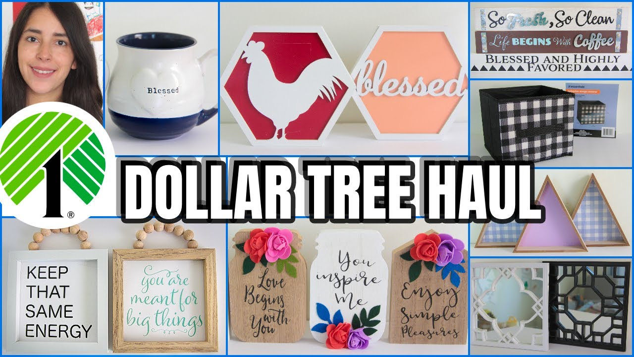 DOLLAR TREE HAUL OF 2020 MUST SEE HOME DECOR