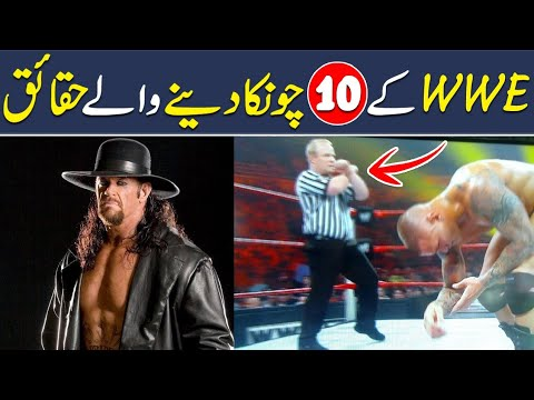 Top 10 WWE Unbelievable Facts, Sports, Shan Ali TV