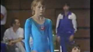 Svetlana Boginskaya FX 1985 International Junior
