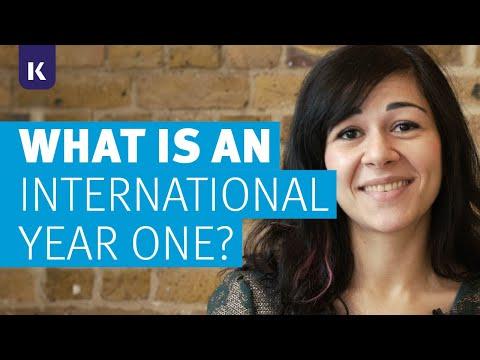 What is an International Year One?   Kaplan International Pathways