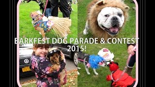 Barkfest Halloween Pet Parade & Costume Contest For Dogs 2015