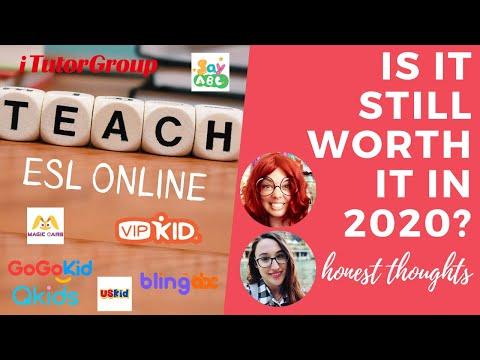 Is online ESL teaching still worth it in 2020?  An HONEST discussion
