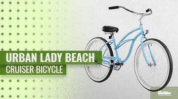 "Firmstrong Urban Lady Beach Cruiser Bicycle: Firmstrong Urban Lady Single Speed - Women's 26"" Beach"