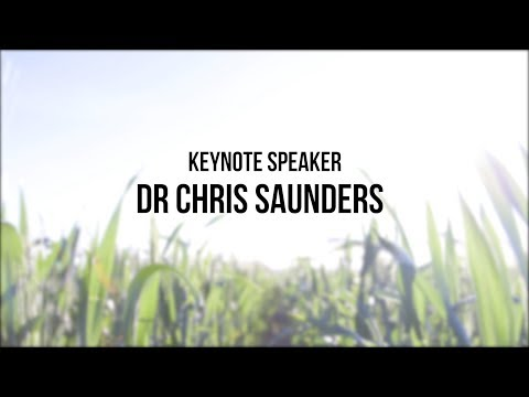 BIG FIG  -  KEYNOTE SPEAKER - DR CHRIS SAUNDERS - LATEST INNOVATIVE TILLAGE MACHINERY RESEARCH