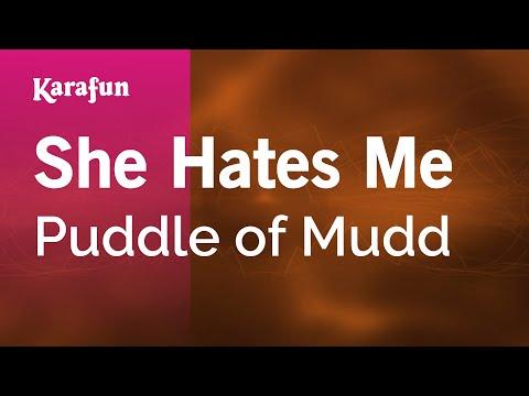 Karaoke She Hates Me - Puddle of Mudd *