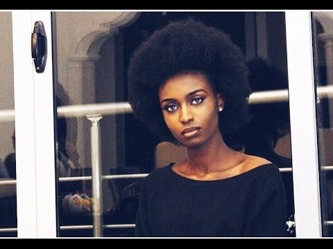 How To Make An Afro On 4c Natural Hair Youtube