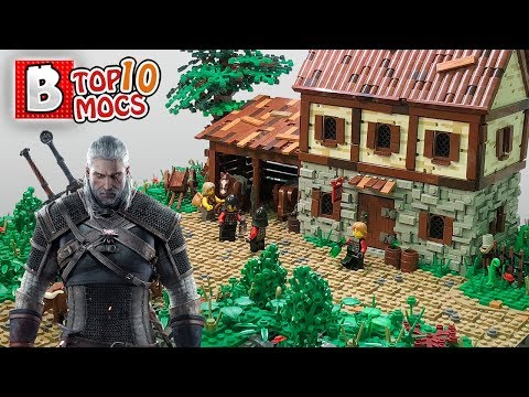 LEGO The Witcher should be a thing | TOP 10 LEGO Creations (MOCs) of the Week