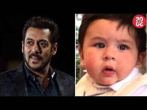 Salman Gets 'Bharat' Title From Sajid Nadiadwala | Taimur's Cute Cricketer Look