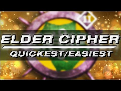 QUICKEST And EASIEST Way To Complete The Elder Cipher In Destiny: Prison Of Elders