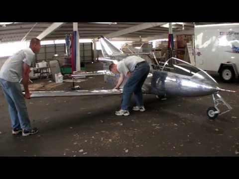 """BD-5 """"Smallest Jet"""" Flies At AirVenture"""