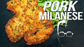 THE BEST PORK RECIPE YOU'VE NEVER HAD - PORK MILANESE | SAM THE COOKING GUY 4K