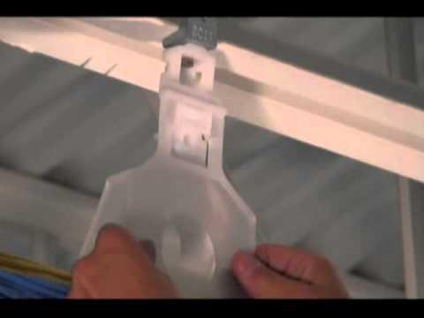 Arlington The Loop Communications Cable Hanger Low Cost Flexible Non Metalic