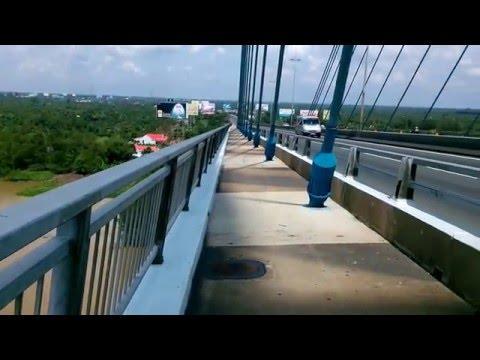 Cầu Mỹ Thuận bờ Tiền Giang 2