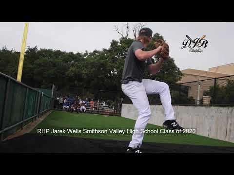 RHP Jarek Wells Smithson Valley High School Class of 2020