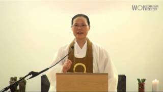 The Purpose of Meditation: Won Buddhism Dharma Talk by Ven. Chung Ohun Lee, Ph.D.