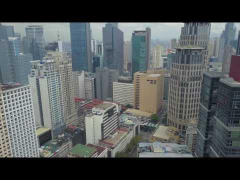 DJI Mavic Pro - Aerial Makati, Metro Manila (4K)