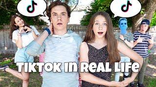 Tik Tok In Real Life 😱 *Summer Crush*