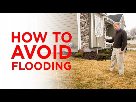 How to Avoid Potential Flooding in the Basement of Your New Home