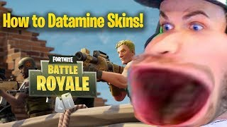 How To Datamine Fortnite V.4.5 (New/leaked skins, Gliders, and emotes!)