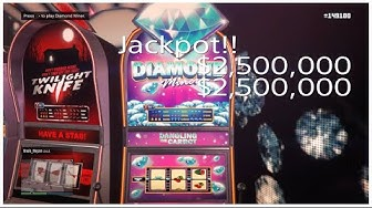 Win Jackpot $2,500,000 Everytime Slot Machine Glitch GTA 5 Online!!