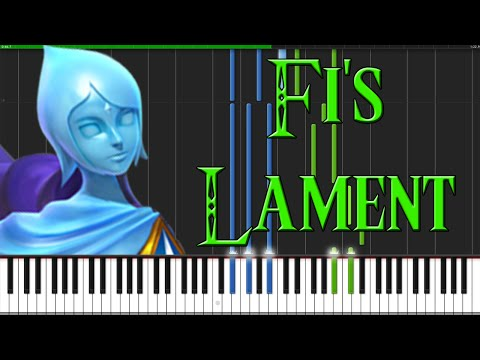 Fi's Lament - The Legend of Zelda: Skyward Sword [Piano Tutorial] (Synthesia)