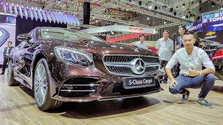 """VMS 2018 - Sờ mó """"Hoa hậu"""" triển lãm Mercedes S450 Coupe giá 6,2 tỷ đẹp tuyệt sắc"""