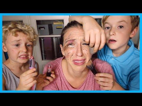 My Nephews Do My Makeup!