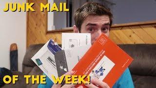 Credit Card Junk Mail of the Week! (Citi, HSBC, Amex Loans, Upstart)