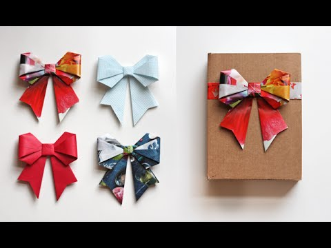 Cute Paper Bow Origami
