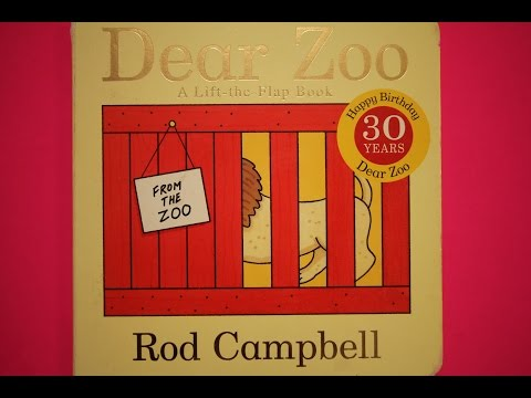 Dear Zoo By Rod Campbell - Story Reading for kids