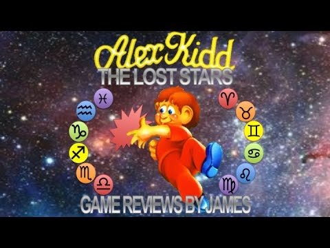 Alex Kidd: The Lost Stars - Game Reviews by James