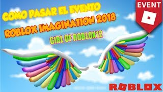 HOW TO GET THE WINGS OF THE ROBLOX IMAGINATION 2018 EVENT