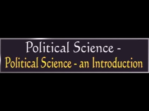 CCE || Political Science - An Introduction || LIVE  INTERACTIVE SESSION With A. Madhusudhan Reddy