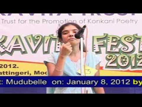 Konkani Poems I Jenifer Menezes / Maurice D'Sa I Kavita Trust Poetry Reciting Competition