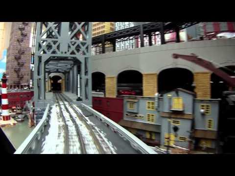 Alan Arnold's O-Gauge Big City Skyscraper Train Layout video